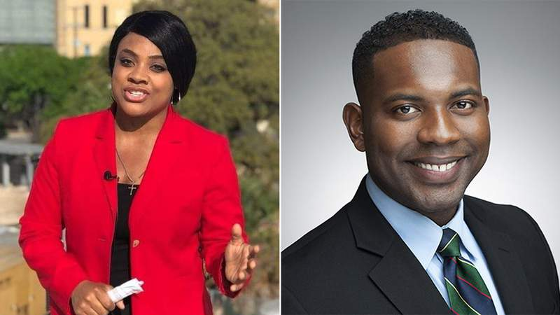 KSAT 12's Japhanie Gray and Deven Clarke will anchor the Christmas Day newscast.