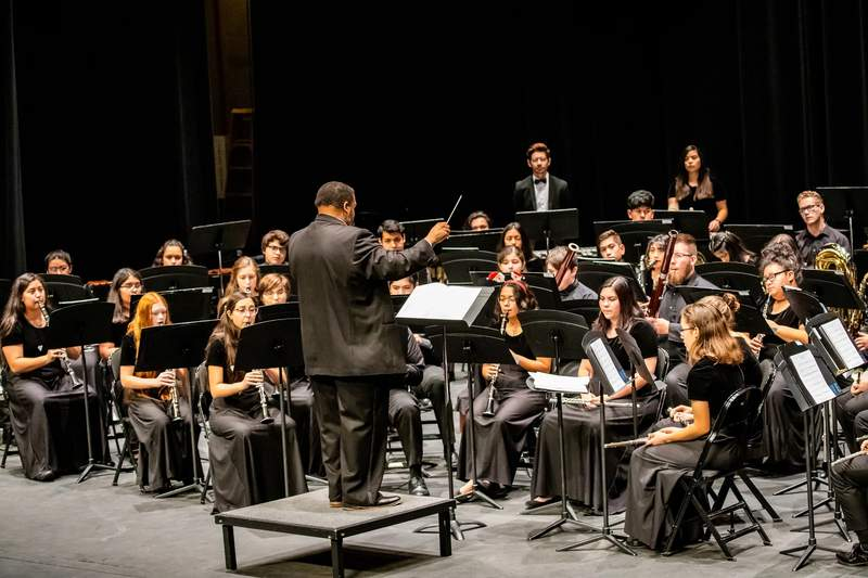 Photos was taken on Dec. 15, 2019 during SAYWE's Winter in the Watson performance in the Watson Fine Arts Center Theater.