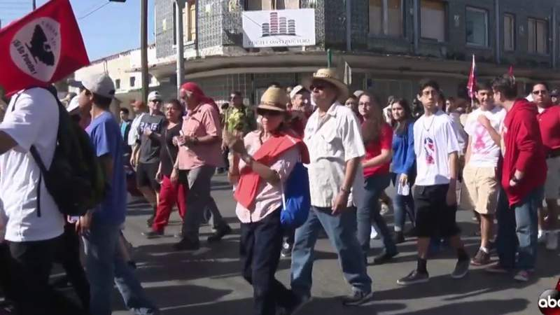 Saturday's 25th annual Cesar Chavez March for Justice goes virtual