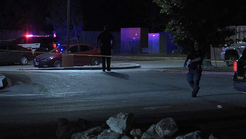 One man is injured and another man is behind bars after an argument outside of a North Side nightclub turned to a shooting overnight, according to San Antonio police.