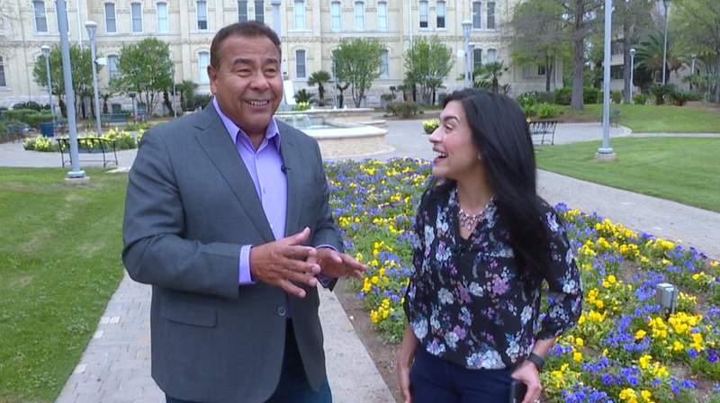 Jen Tobias-Struski interviewed San Antonio celebrity John Quiñones in April of 2017.