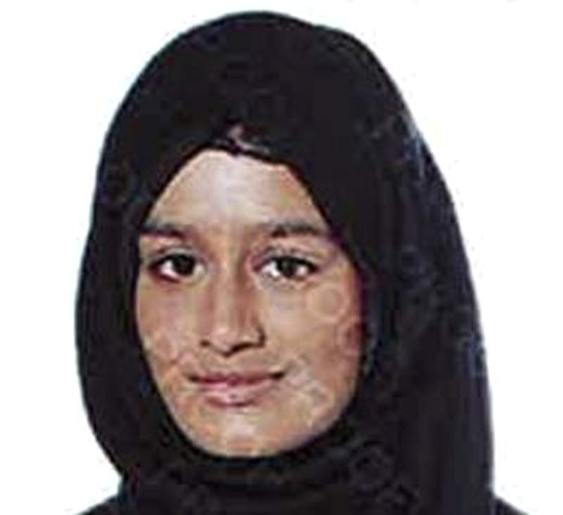 FILE - This undated photo released by the Metropolitan Police of London, shows Shamima Begum. Shamima Begum who ran away from London as a teenager to join the Islamic State group lost her bid Friday Feb. 26, 2021 to return to the U.K. to fight for the restoration of her citizenship, which was revoked on national security grounds. (Metropolitan Police of London via AP, File)