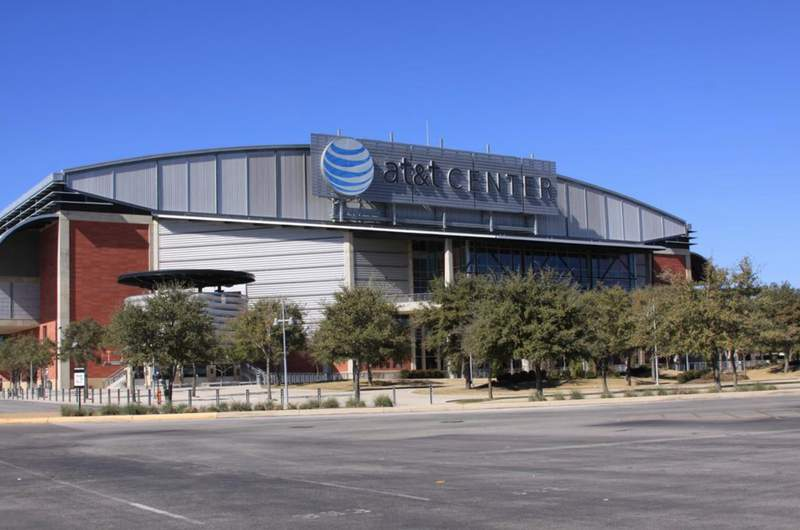 AT&T Center.