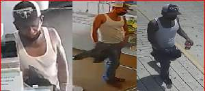 Authorities are searching for a person who robbed the Nuevo Leon Bakery in the 1100 block of S. New Braunfels Ave. on June 15, 2021.