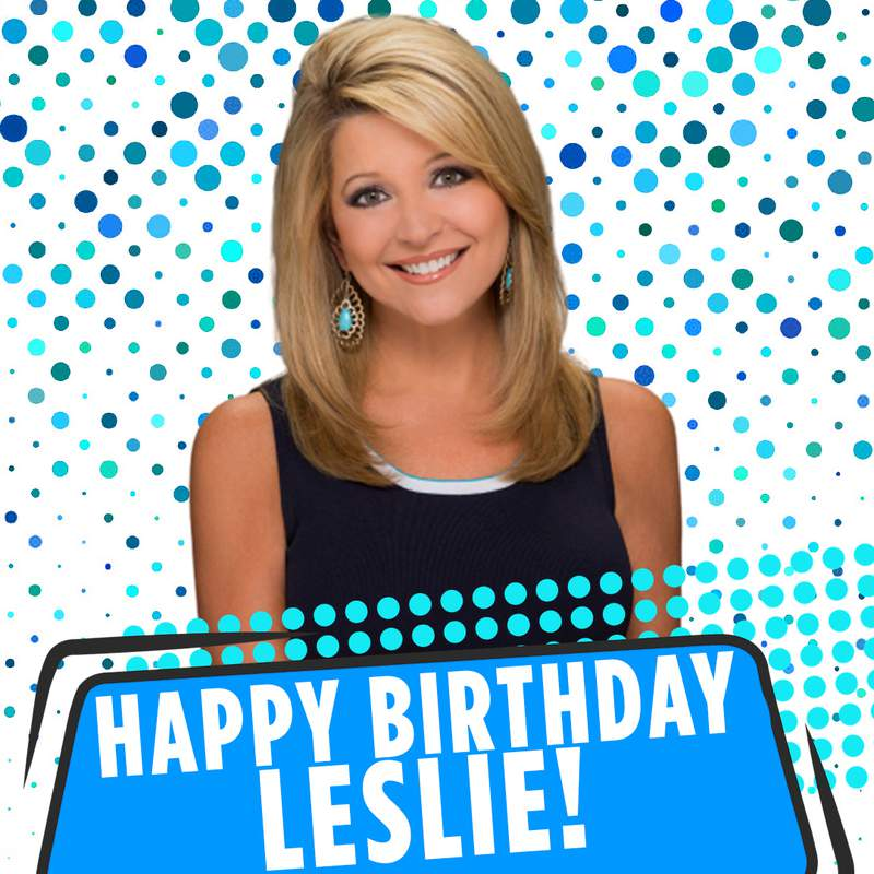 Leslie birthday image