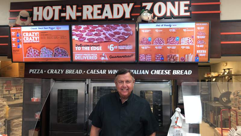 Retired Army Lieutenant Colonel, Rene Jackson, continued with his small business dreams after two battles with cancer. He owns six Little Caesars locations, including one in Helotes.