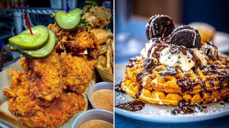 Texas Eats Season 2, Episode 16: Wild Brunch Items & Hot Chicken Sandwiches