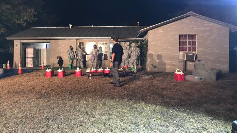 Deputies, DEA agents make 'disturbing discovery' of meth lab in NE Bexar County neighborhood, sheriff says