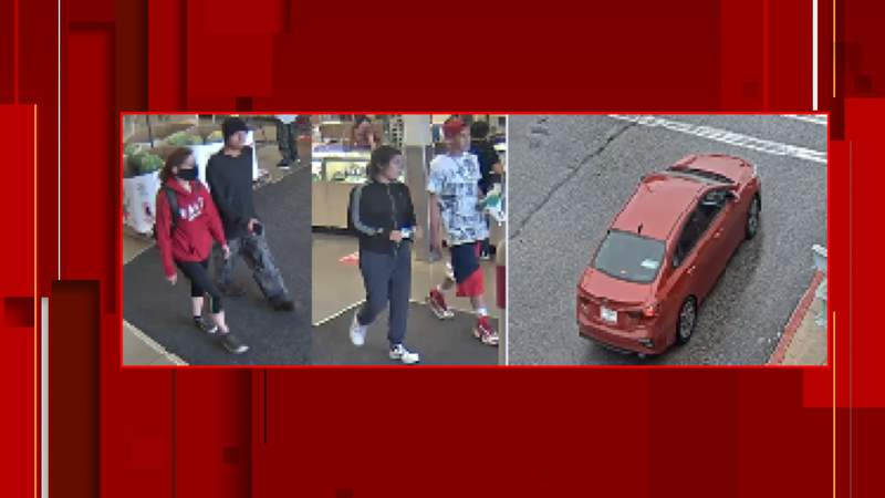 SAPD are searching for these four suspects who robbed a woman on the South Side