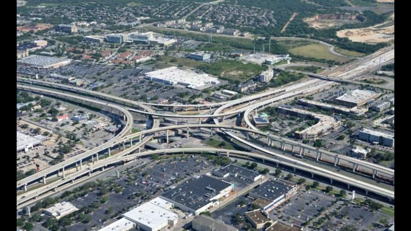 Three major highways in San Antonio have planned closures this weekend, TxDOT says