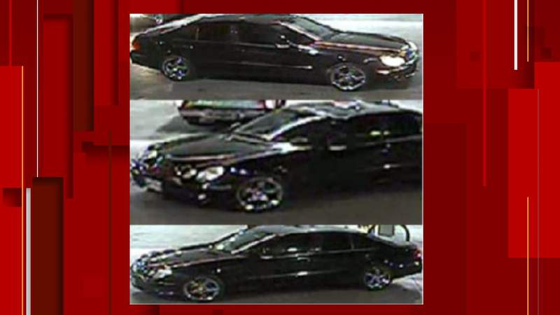 SAPD and Crime Stoppers released images of a vehicle that was being driven on Dec. 12, 2020. Investigators believe the driver may have information about a sexual assault.