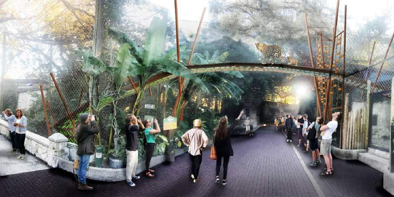 The San Antonio Zoo will break ground Monday on an upgrade to the Jaguar habitat.