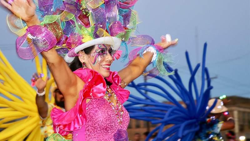 Fiesta Flambeau Parade 2019