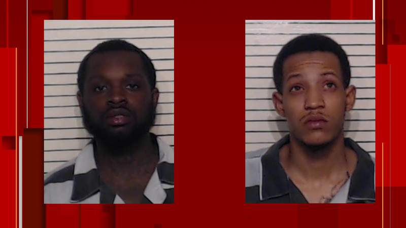 Timothy Thompson and Donte Williams were taken into custody by San Marcos police following a car chase that first began in New Braunfels.