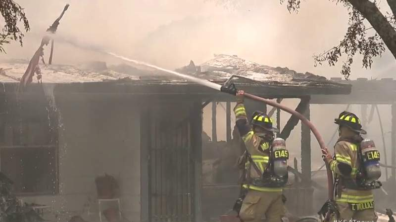Second-alarm house fire in NE Bexar County leaves family with over $100K in damages, fire officials say