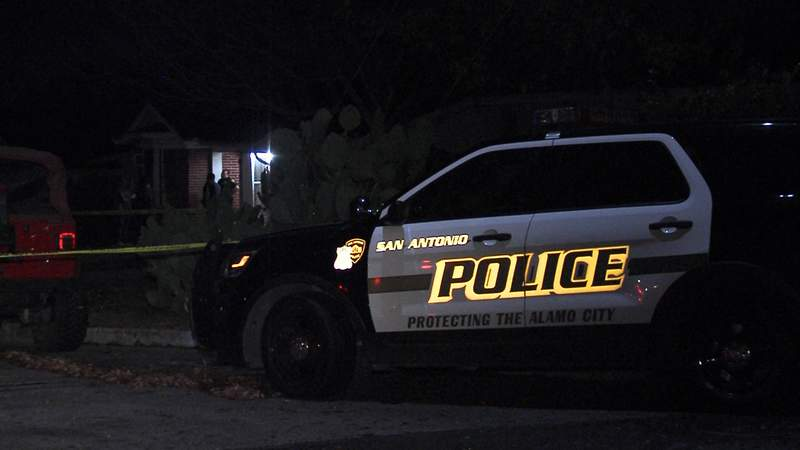 Police investigate shooting following house party early Saturday morning.