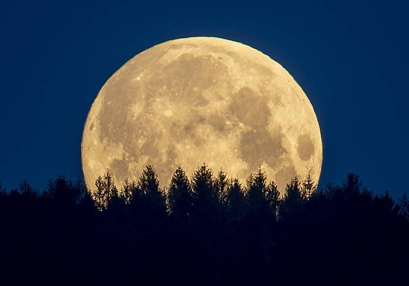 How to See August's Rare Full Blue Moon This Weekend