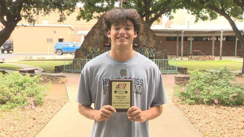 Marcos Jimenez-Cedillo is selected as Instant Replay's Scholar Athlete of the Week for Sunday, October 3, 2021.