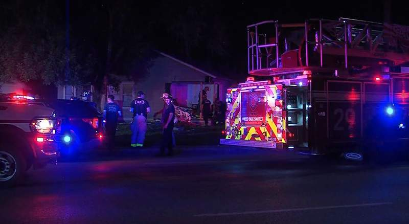 A 9-year-old boy is in serious condition after an SUV crashed into his family's Southeast Side home overnight, according to San Antonio police.