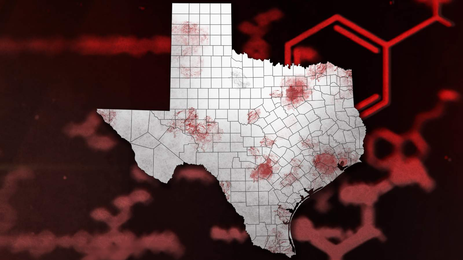 Map Track Covid 19 Cases In Texas County By County Updates