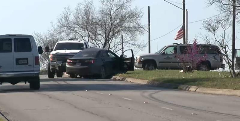 A driver is dead after a two-vehicle crash on the city's far Northeast Side, according to San Antonio police.