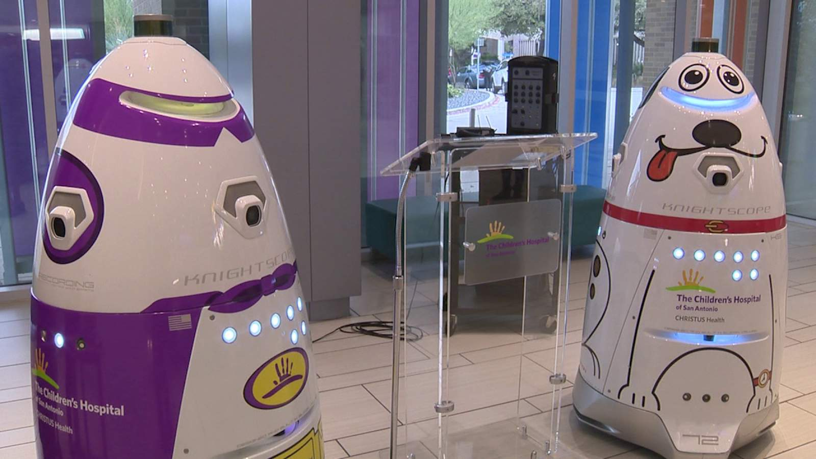 San Antonio hospital introduces security robots
