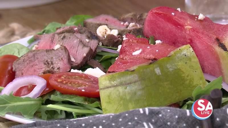 Summer recipe: Steak & grilled watermelon salad | SA Live | KSAT 12