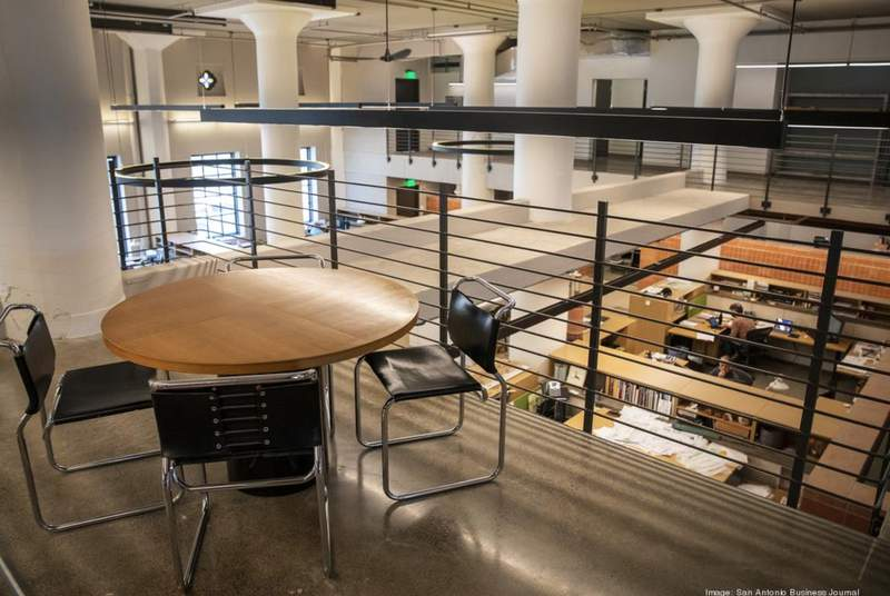 After more than 40 years at St. Paul's Square, Ford, Powell & Carson this week moved into a 14,000-square-foot office at the San Antonio Light building
