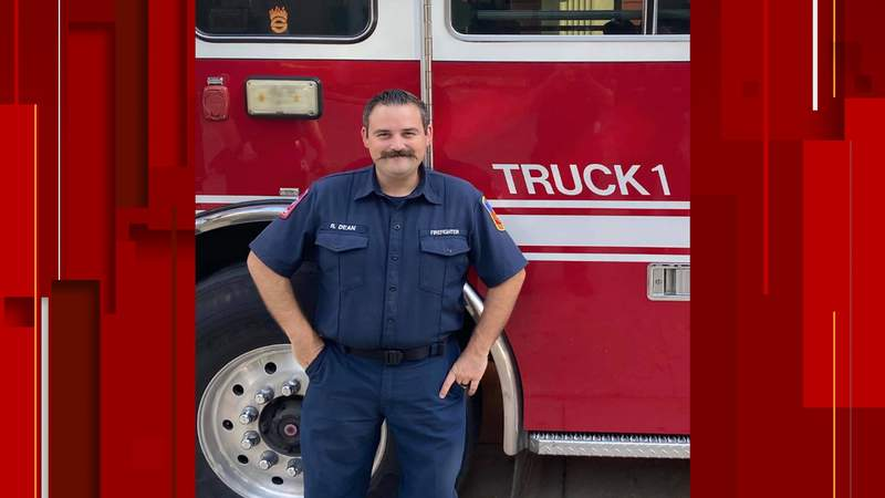 Pictured is Seguin firefighter Roger Dean.
