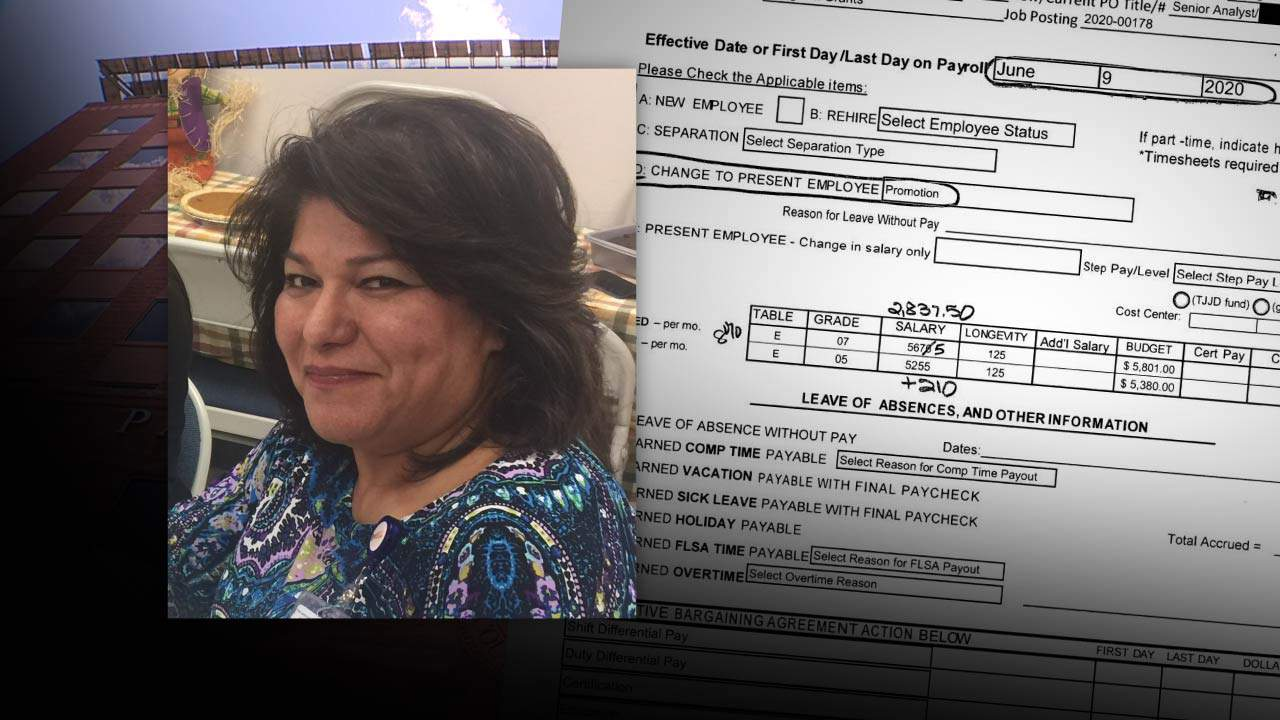 Bexar County employee promoted on same day co-worker she testified against was handed proposed termination