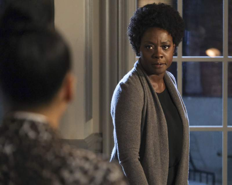 "HOW TO GET AWAY WITH MURDER - ""Stay"" - Annalise discovers there's a surprise witness that threatens her case. Meanwhile, Connor tries to persuade the K3 to go along with a new plan. Elsewhere, a lie between Frank and Bonnie threatens their relationship as Annalise's killer is finally revealed on the series finale of ""How to Get Away with Murder,"" THURSDAY, MAY 14 (10:01-11:00 p.m. EDT), on ABC. (ABC/Jessica Brooks)