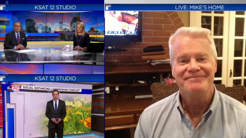 KSAT's Mike Osterhage self quarantines at home after son vacations with person who tested positive for COVID