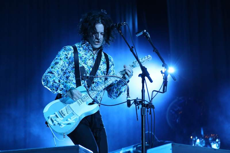 Jack White in 2014. (Photo by Taylor Hill/WireImage for Governors Ball Music Festival)