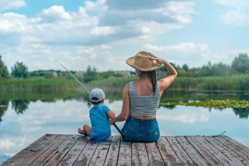 Generic fishing photo