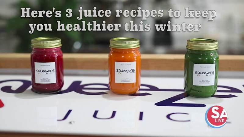 Squeezers shares 3 juice recipes for a healthier winter | SA Live | KSAT 12