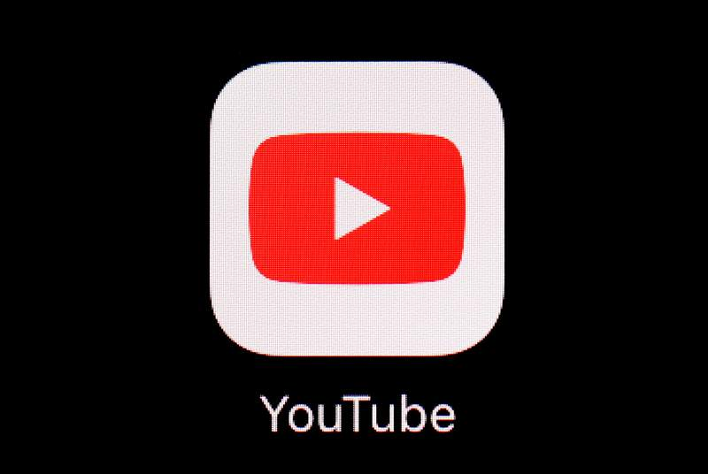 FILE - This March 20, 2018, file photo shows the YouTube app on an iPad. More than a month after the U.S. presidential election, YouTube says it will start removing newly uploaded material that claims widespread voter fraud or errors changed the outcome. The Google-owned video service said Wednesday, Dec. 9, 2020 that this is in line with how it has dealt with past elections. Thats because Tuesday was the safe harbor deadline for the election and YouTube said enough states have certified their results to determine Joe Biden as the winner.  (AP Photo/Patrick Semansky, File)