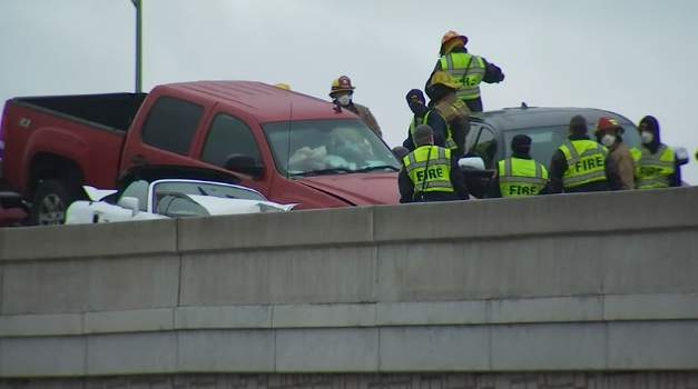 The Austin-Travis County EMS said multiple units are at the scene of the crash on the eastbound lanes of the 13000 block of North State Highway 45. The call came in around 8:20 a.m., officials said in a Tweet.