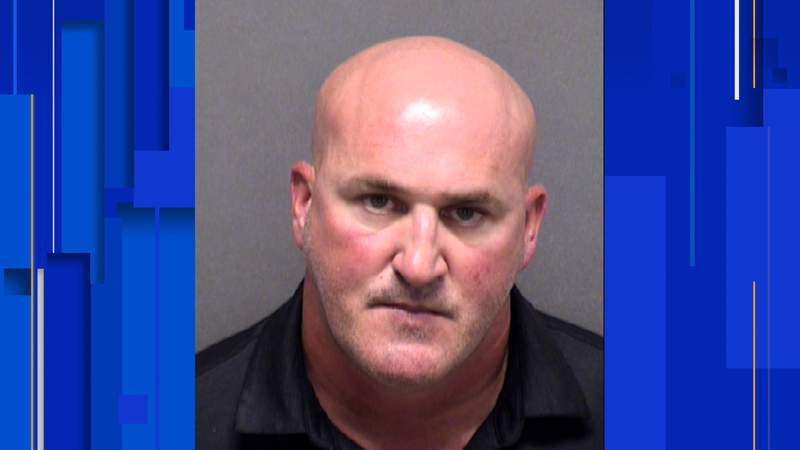 SAPD Sgt. Shane Nagy has been charged with driving while intoxicated, police say. Image: Bexar County Jail