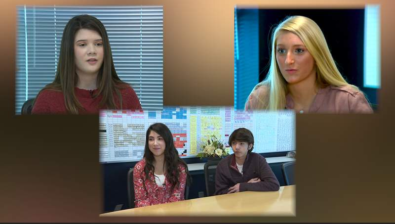 Four Smithson Valley High School students have started service campaigns.