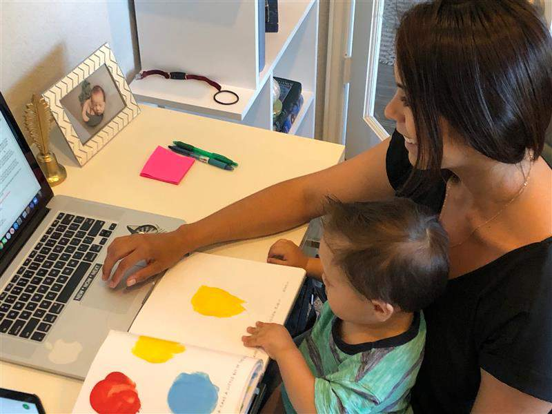 Teaching from home: Distance learning, lesson planning... and raising a  toddler in the age of COVID-19
