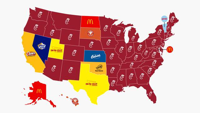 Business Insider map claims Texas s In-N-Out more than ... on