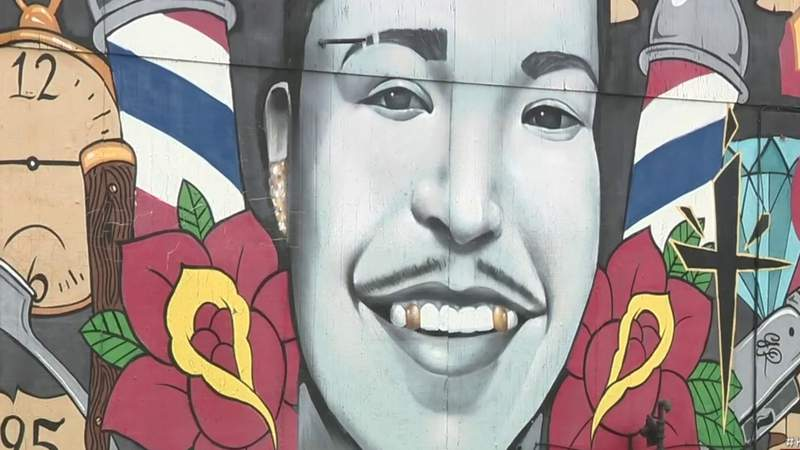 'If These Walls Could Talk': West Side mural brings peace to mother of man who was killed