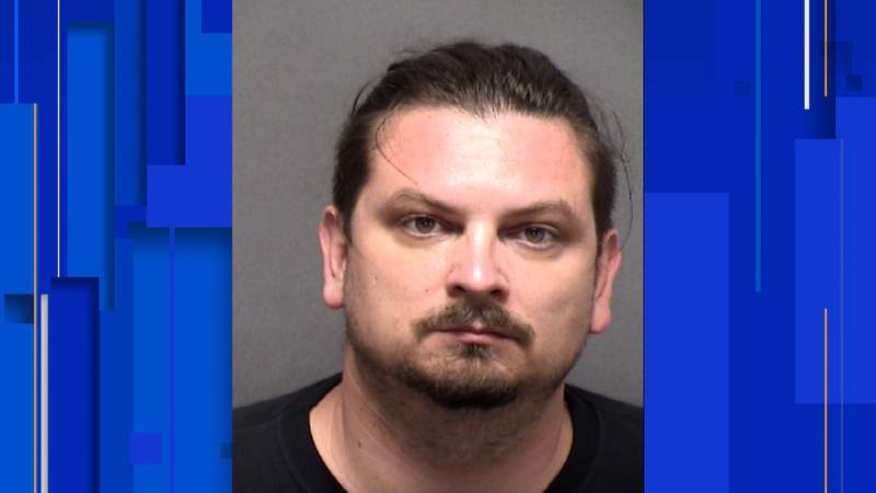 Justin Robisheaux, 36, has been charged with sexual assault, a second-degree felony, according to online jail records.