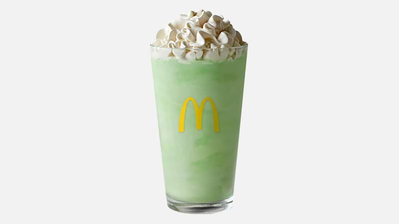 Shamrock Shakes are hitting McDonalds restaurants starting Feb. 15