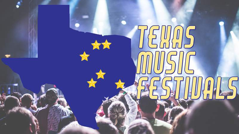 Drive to these Texas Music Festivals