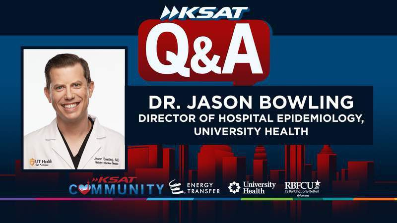 Hesitant about the COVID-19 vaccine? Call into KSAT on June 4 to get facts from Dr. Jason Bowling of University Health