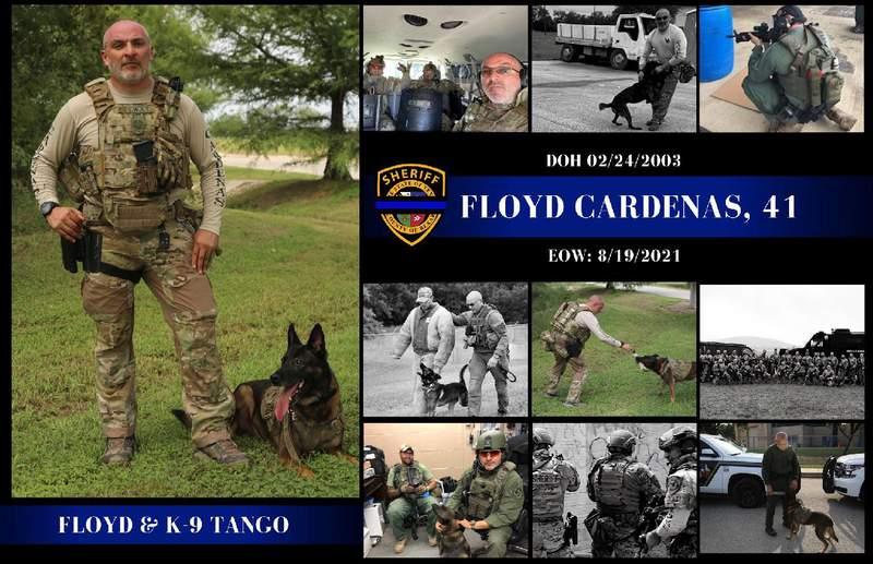 Deputy Floyd Cardenas, 41.