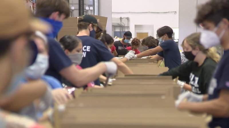 San Antonio Food Bank feeling the dip in volunteers, CEO says