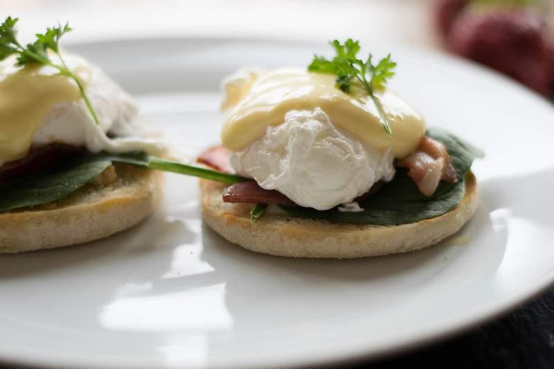 Eggs Benedict 3 ways today on SA Live!