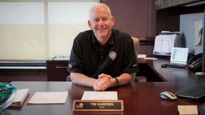 Boerne Mayor Tim Handren